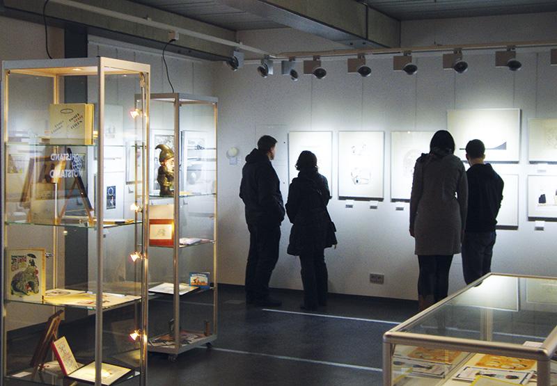 Seit 2011 betreibt die Cartoonlobby e.V. das Cartoonmuseum Brandenburg am vorläufigen Standort Luckau