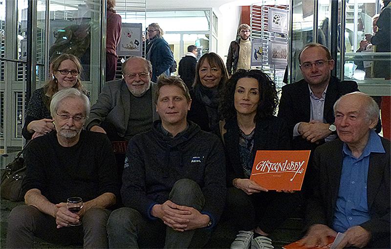 Erfolgreicher Jahresrückblick 2015 ... gemeinsame Ausstellung deutscher und französischer Zeichner Paris/Luckau